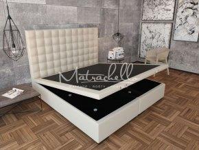 Verzia postele springbox s úložným priestorom