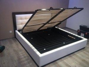Úložný priestor čalúnených postelí